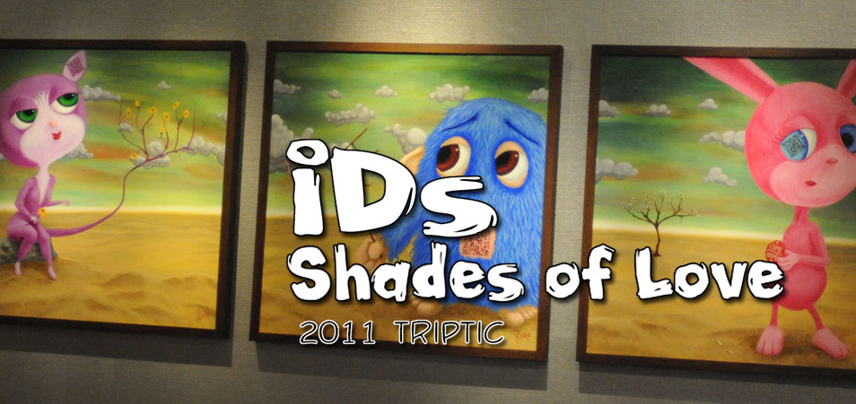 IDs: Shades of Love Triptic