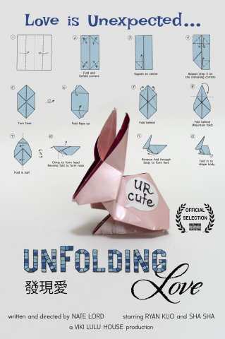 Unfolding Love Production Poster